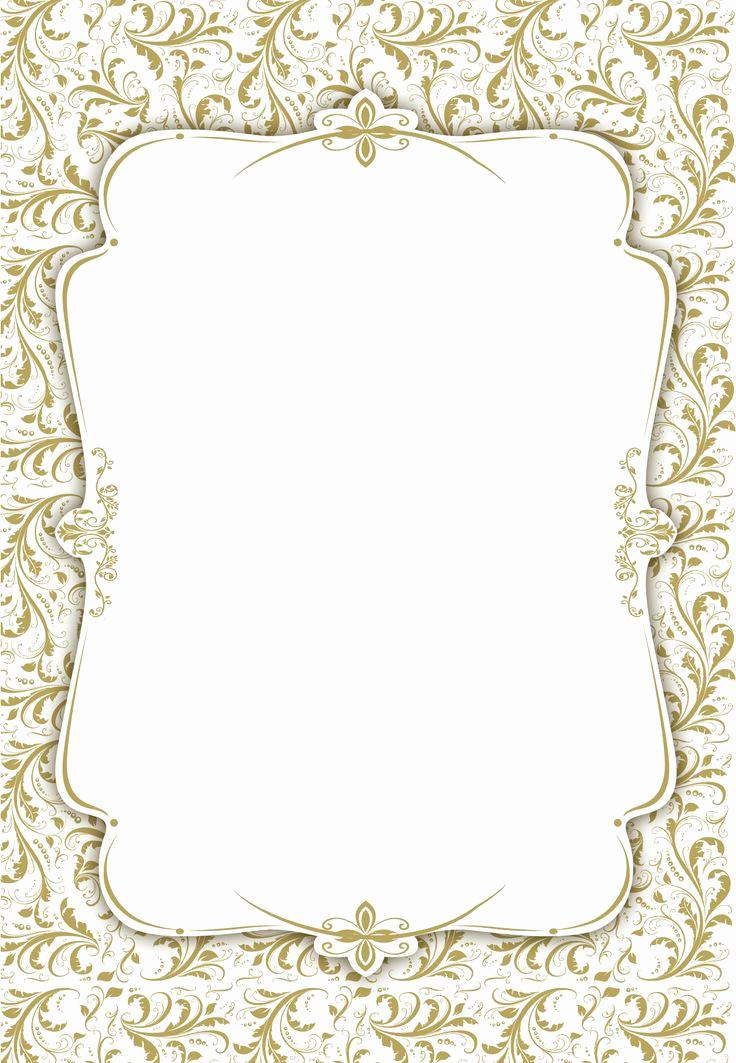 Blank Wedding Invitation Templates Inspirational Blank Wedding Invitation Template