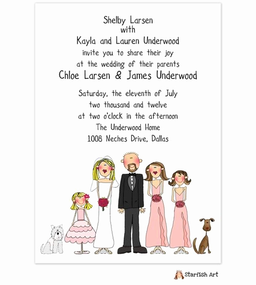 Blended Family Wedding Invitation Wording Best Of Wedding Invitation In 2019 Invitations