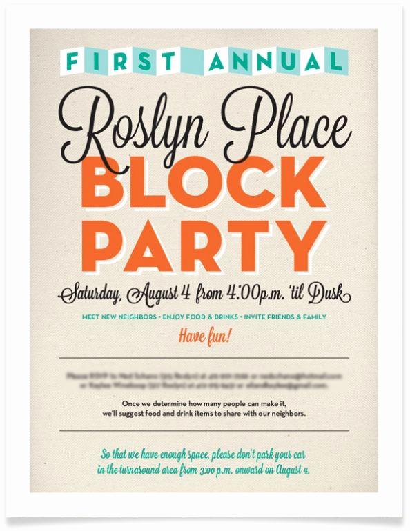Block Party Invitation Ideas Best Of 15 Best Invitation Ideas Images On Pinterest