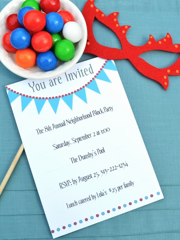 Block Party Invitation Ideas Best Of 25 Best Ideas About Block Party Invites On Pinterest