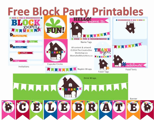 Block Party Invitation Ideas Fresh Best 25 Block Party Invites Ideas On Pinterest