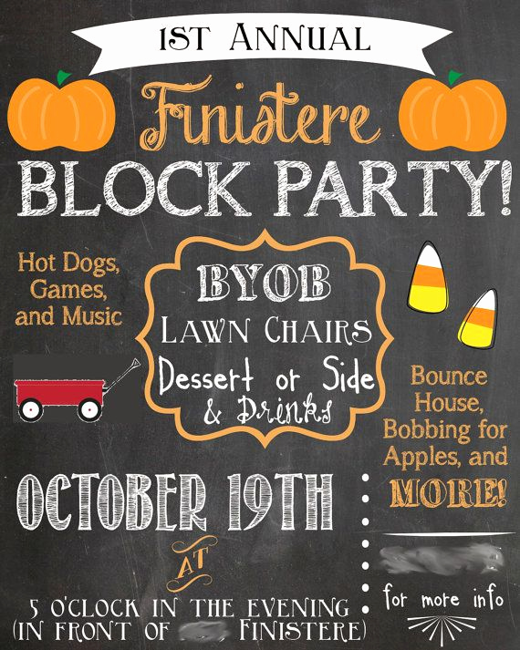 Block Party Invitation Ideas Luxury Best 25 Block Party Invites Ideas On Pinterest