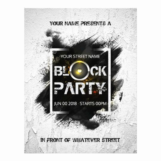 Block Party Invitation Template Free New Best 25 Block Party Invites Ideas On Pinterest
