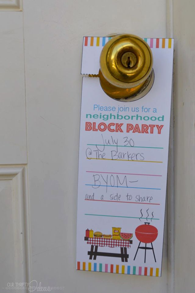 Block Party Invitation Template New Best 25 Block Party Invites Ideas On Pinterest