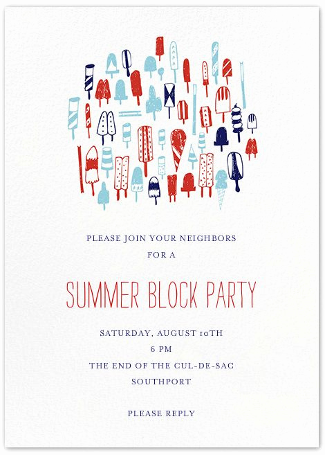 Block Party Invitation Templates Fresh 25 Best Ideas About Block Party Invites On Pinterest
