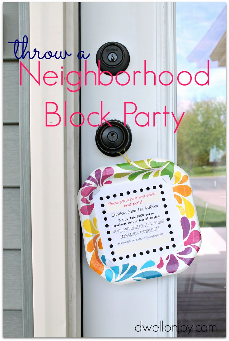 Block Party Invitation Templates Lovely Best 25 Block Party Invites Ideas On Pinterest