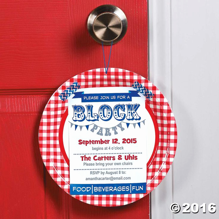 Block Party Invitation Templates New Neighborhood Block Party Invitation Idea