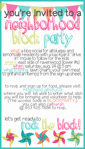 Block Party Invitation Templates Unique How to Throw A Block Party Printable Invitation Template