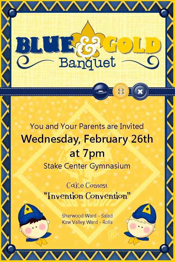 Blue and Gold Invitation Template Inspirational 20 Best Images About Blue & Gold Banquet On Pinterest