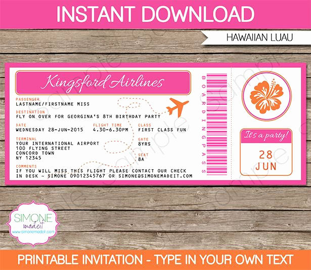 Boarding Pass Invitation Template Best Of Best 25 Boarding Pass Template Ideas On Pinterest
