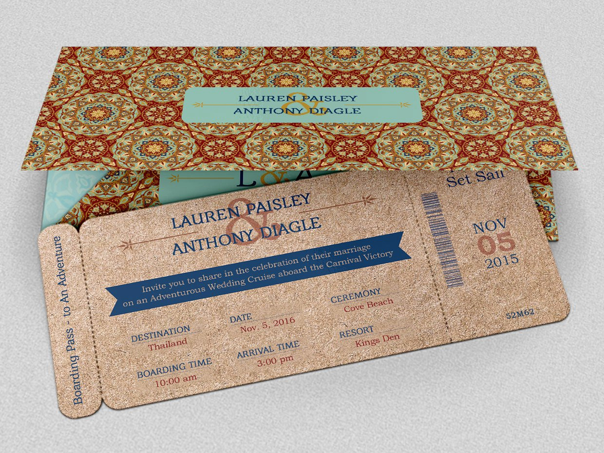 Boarding Pass Invitation Template Elegant Adventure Boarding Pass Invitation Invitation Templates