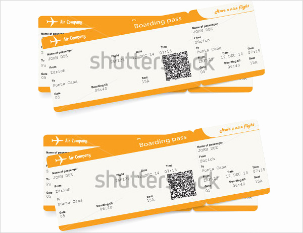 Boarding Pass Invitation Template Luxury 66 Ticket Invitation Templates Psd Vector Eps Ai