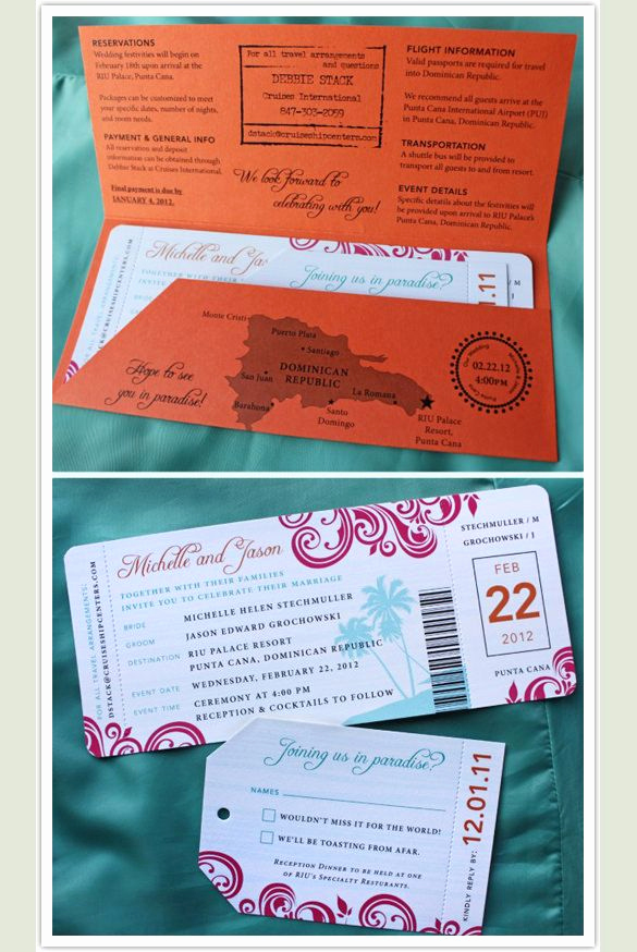 Boarding Pass Invitation Template New Boarding Pass Invitation Template 29 Free Psd format
