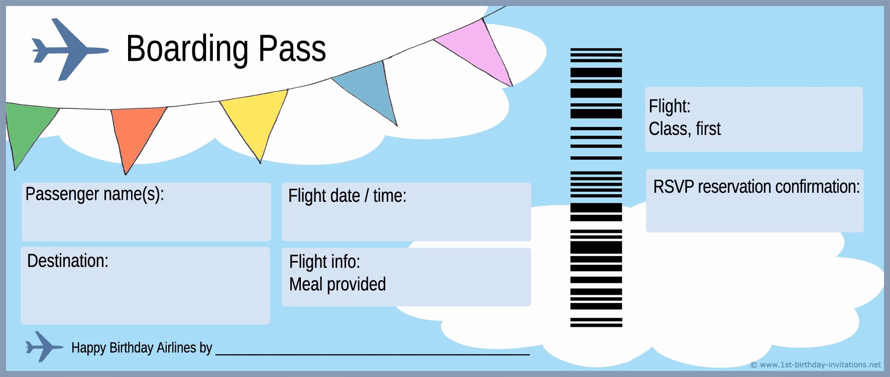 Boarding Pass Invitation Template New Free Boarding Pass Template Google Search