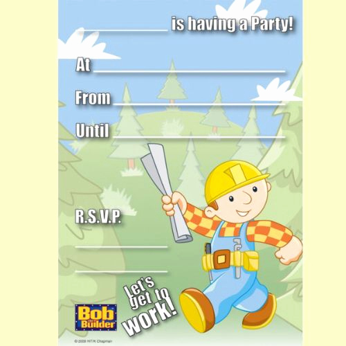 Bob the Builder Invitation Beautiful 140 Best Images About Bob the Builder Printables On