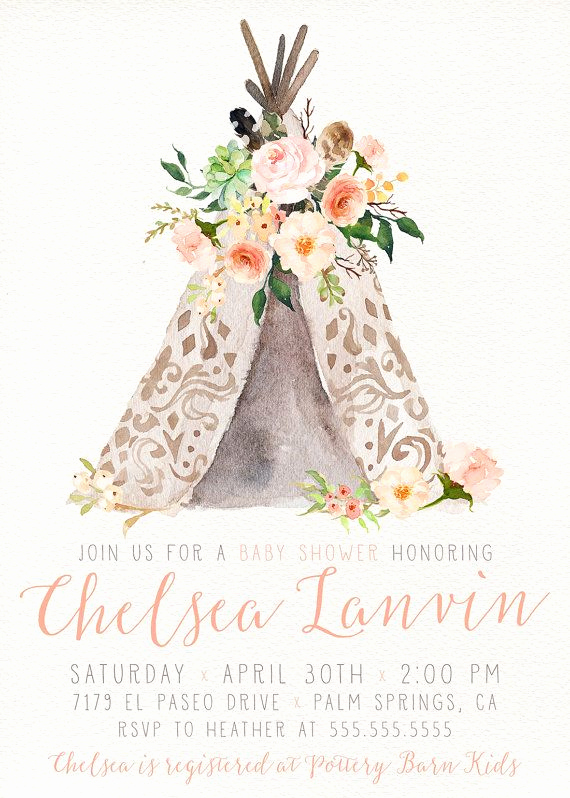 Boho Baby Shower Invitation Best Of 17 Best Ideas About Bohemian Baby Showers On Pinterest