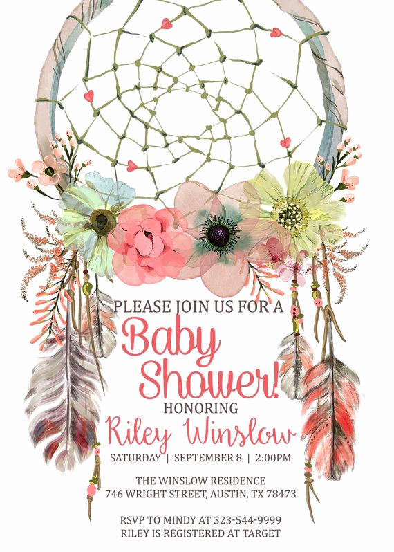 Boho Baby Shower Invitation Unique 17 Best Ideas About Bohemian Baby Showers On Pinterest