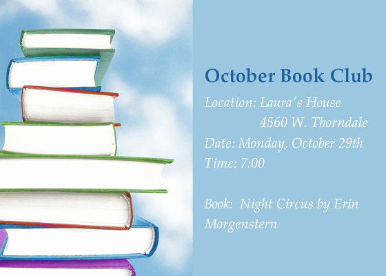 Book Club Invitation Wording Beautiful October Book Club Line Invitations & Cards by Pingg