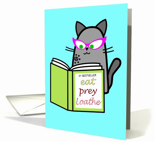 Book Club Invitation Wording Best Of Book Club Invitation Funny Cat Reading Book Card