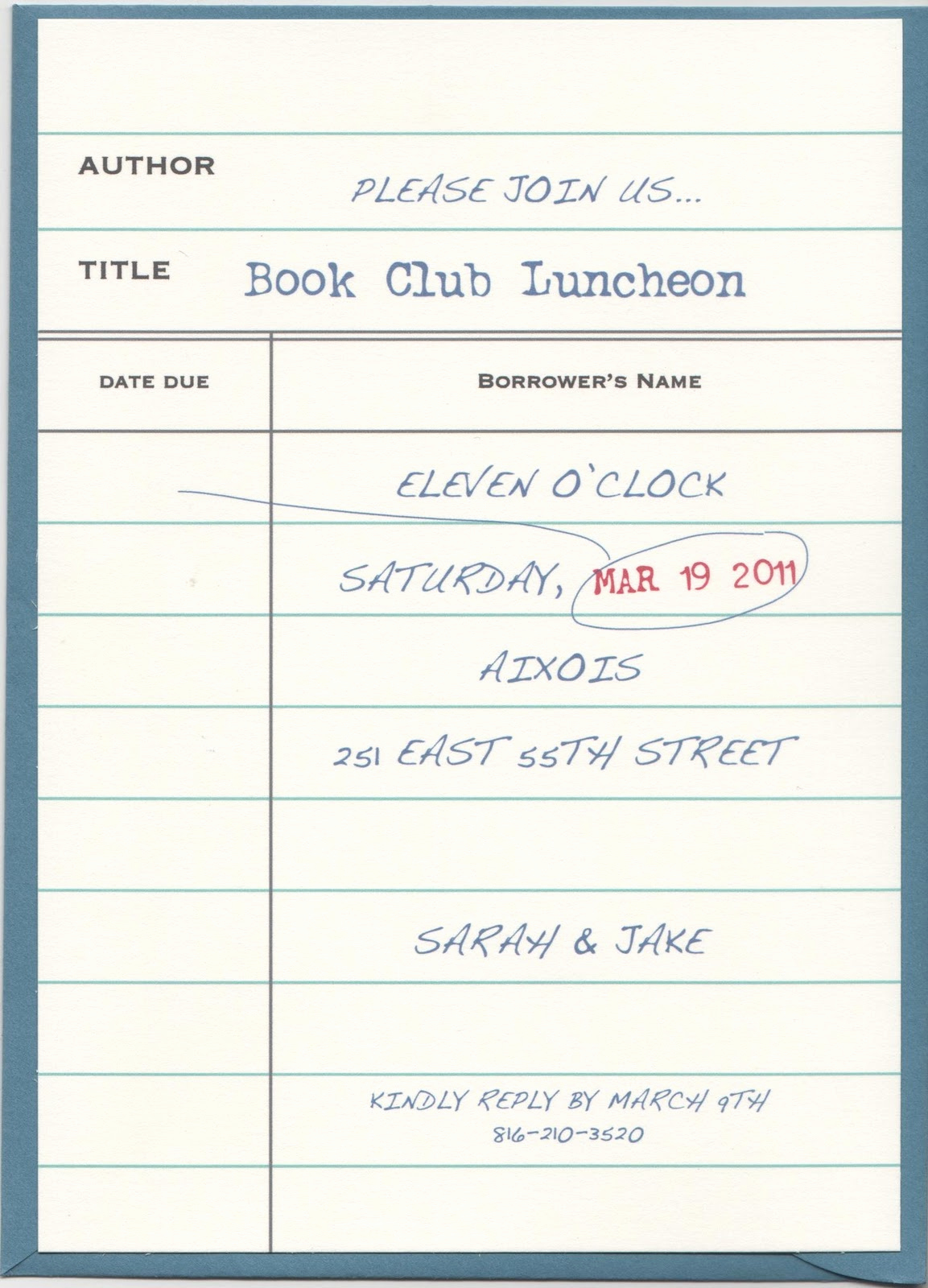 Book Club Invitation Wording Lovely Whackadoo Creative Book Club Invitation Design