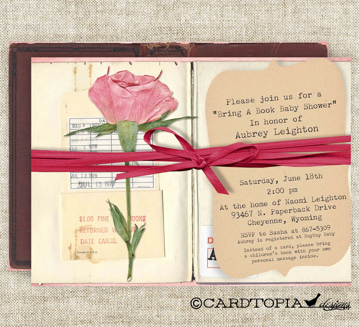 Book themed Baby Shower Invitation Best Of Bring A Book Baby Shower Invitations Build A Library Party