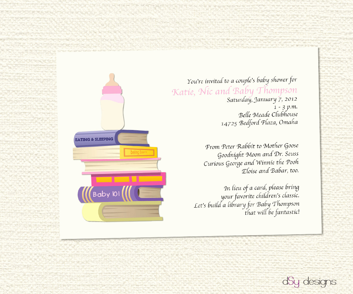 Book themed Baby Shower Invitation Best Of Items Similar to Book Baby Shower Invitation On Etsy