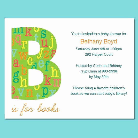 book theme baby shower or birthday