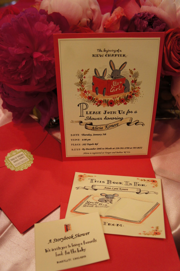 Book themed Baby Shower Invitation Luxury Storybook Baby Shower Project Nursery