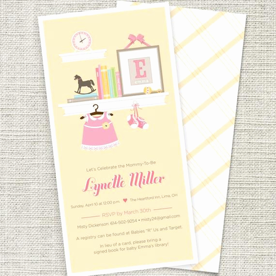 Book themed Baby Shower Invitation New Baby Shower Invitation Book themed Printable