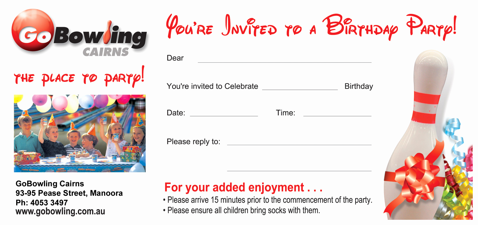 Bowling Party Invitation Template Best Of Bowling Party Invitations Templates Ideas Bowling Party