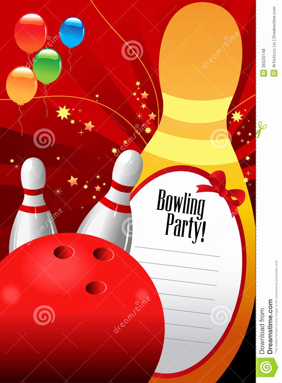 Bowling Party Invitation Templates Free Awesome Free Bowling Invitation Template