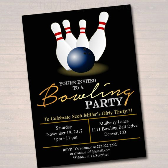 Bowling Party Invitation Wording Lovely Best 20 Bowling Party Invitations Ideas On Pinterest