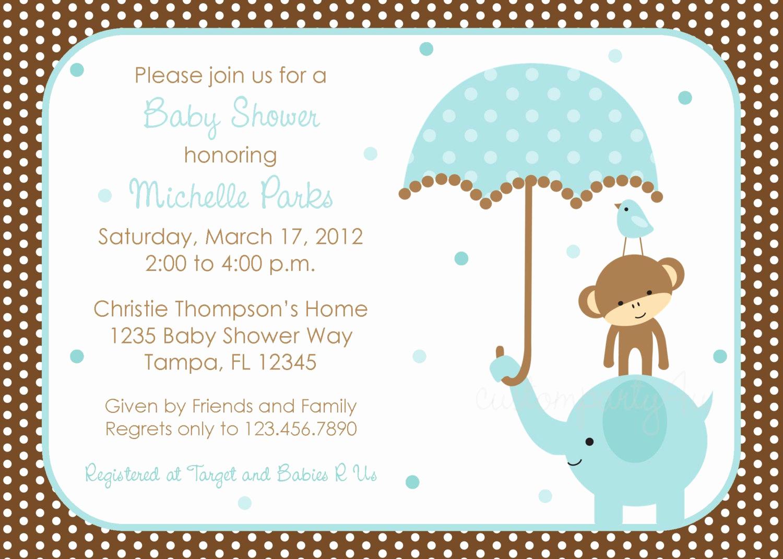 Boy Baby Shower Invitation Best Of Free Baby Boy Shower Invitations Templates Baby Boy