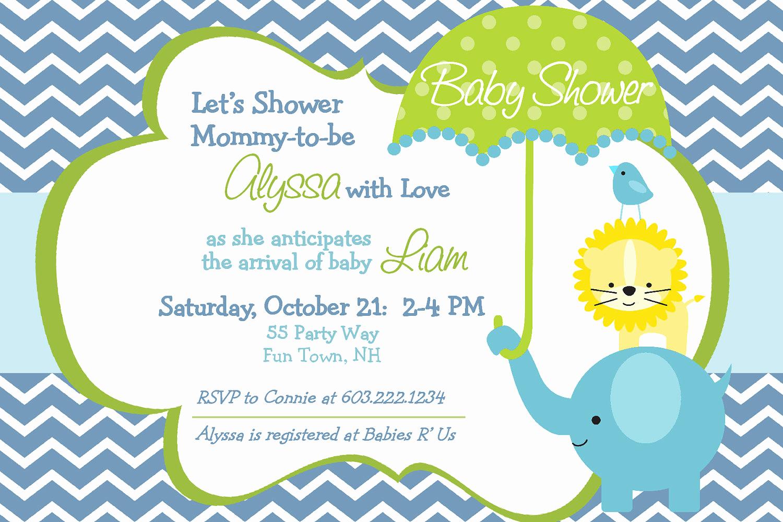 Boy Baby Shower Invitation Fresh Baby Shower Invitations for Boy & Girls Baby Shower
