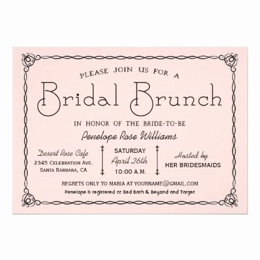 Bridal Brunch Invitation Wording Fresh 25 Best Ideas About Brunch Invitations On Pinterest