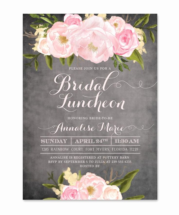 Bridal Luncheon Invitation Wording Fresh 25 Best Ideas About Bridal Luncheon Invitations On