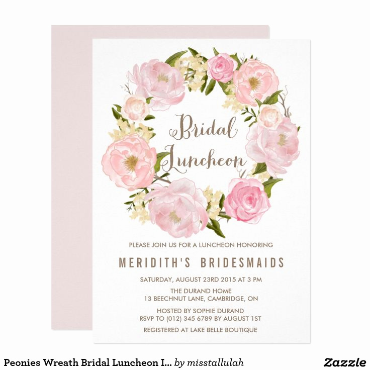Bridal Luncheon Invitation Wording Fresh 25 Best Ideas About Bridal Luncheon On Pinterest