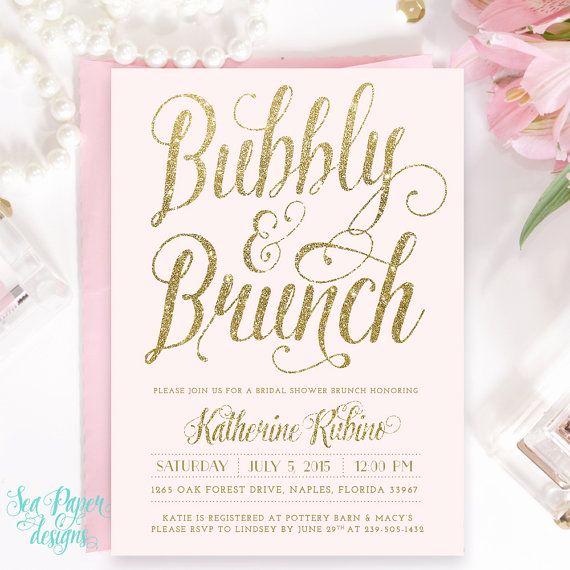 Bridal Shower Brunch Invitation Fresh 25 Best Ideas About Brunch Invitations On Pinterest