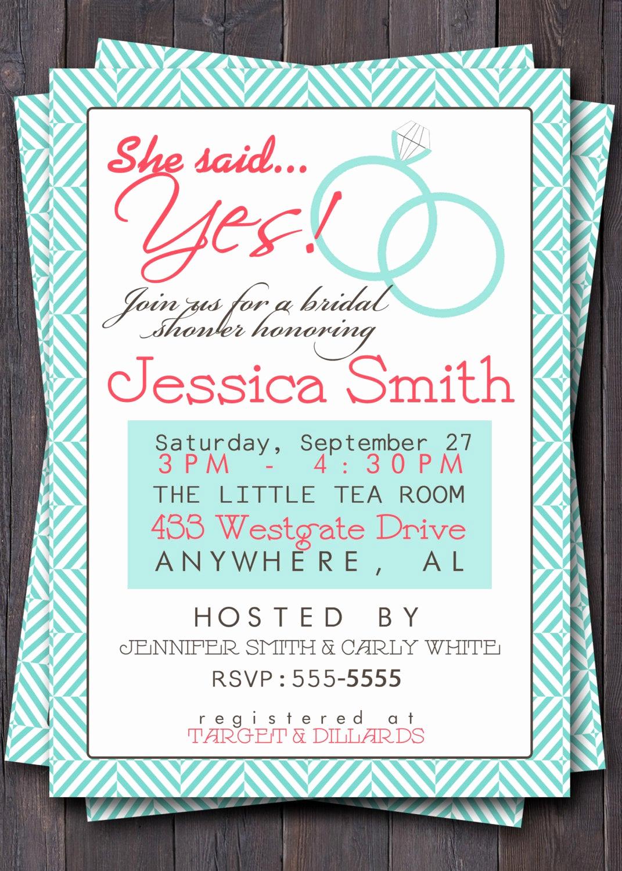 Bridal Shower Brunch Invitation Lovely Items Similar to Wedding Shower Invitation Invite Bridal