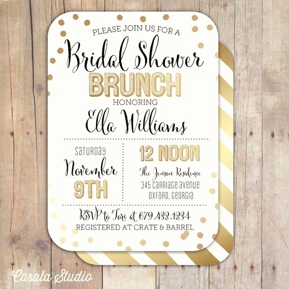 Bridal Shower Brunch Invitation Wording Best Of 20 Bridal Brunch Ideas for A Perfect Party with the Girls