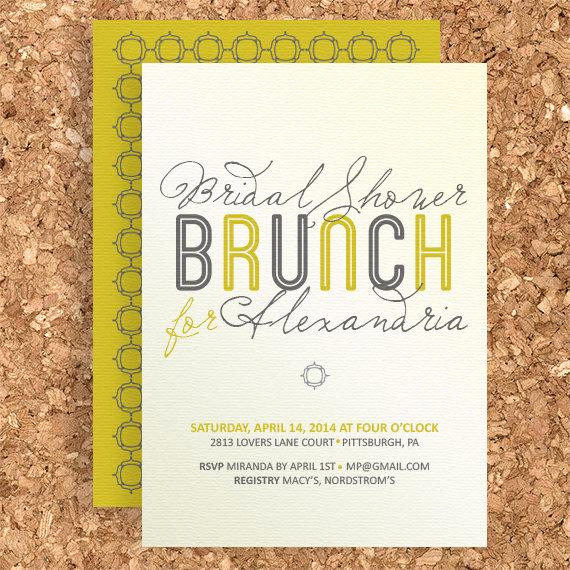 Bridal Shower Brunch Invitation Wording Fresh Bridal Shower Brunch Design Diy Printable Wedding Baby
