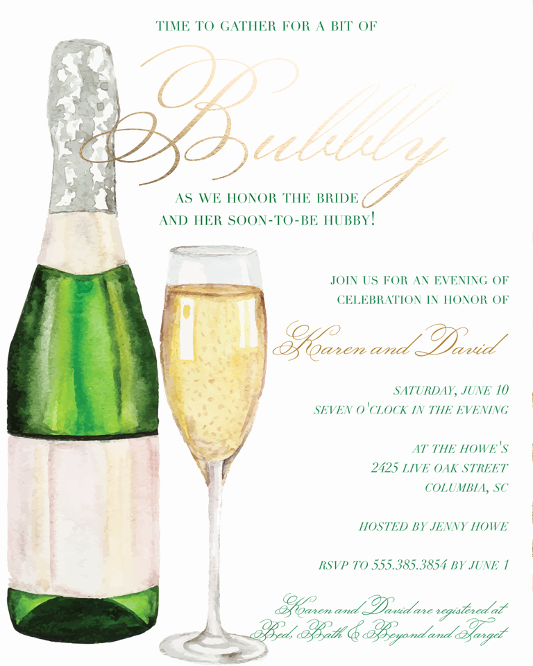 Bridal Shower Brunch Invitation Wording Inspirational Bridal Shower Invitation Wording Ideas and Etiquette