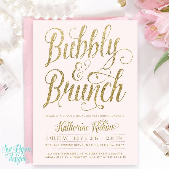 Bridal Shower Brunch Invitation Wording Lovely Best 25 Bridal Shower Invitations Ideas On Pinterest