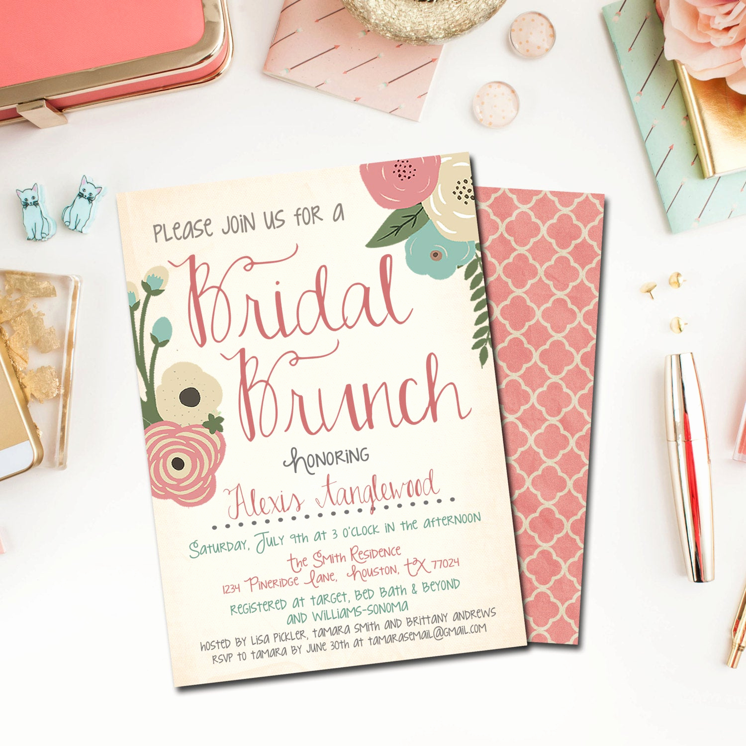 Bridal Shower Brunch Invitation Wording Luxury Bridal Shower Invitation Bridal Shower Invite Bridal Shower