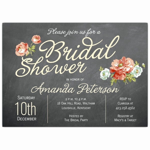 Bridal Shower Brunch Invitation Wording New Finchley Cream Bridal Shower Invitations