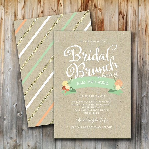 Bridal Shower Brunch Invitation Wording Unique 1000 Ideas About Brunch Invitations On Pinterest