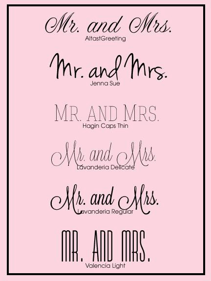 Bridal Shower Invitation Fonts Beautiful 5 Free Wedding Fonts Paperblog