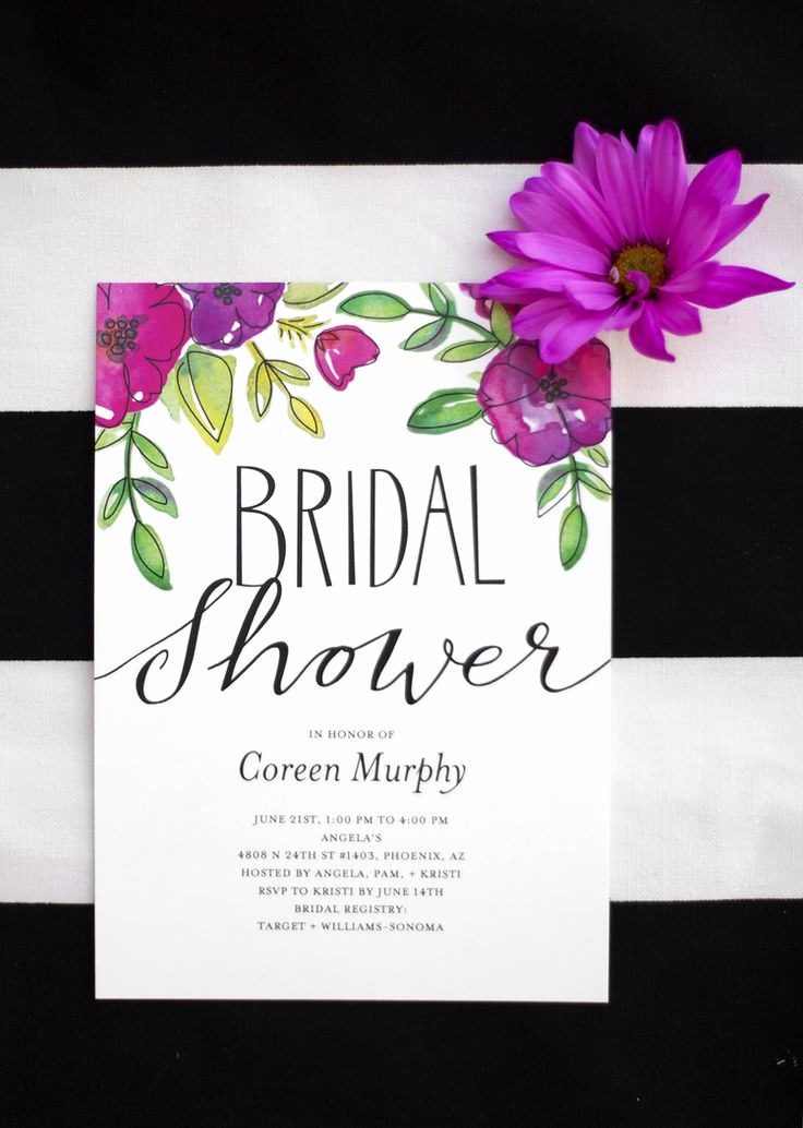 Bridal Shower Invitation Fonts Best Of Garden Party Bridal Shower