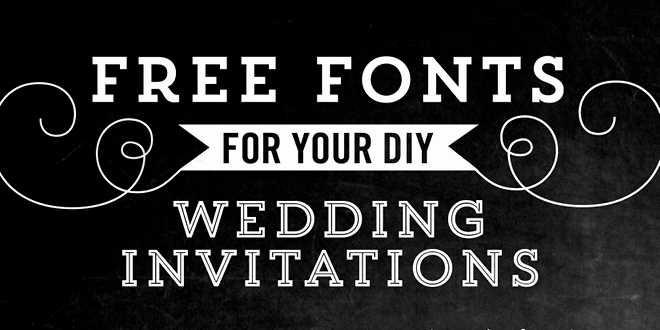 Bridal Shower Invitation Fonts Fresh Free Fonts for Diy Wedding Invitations