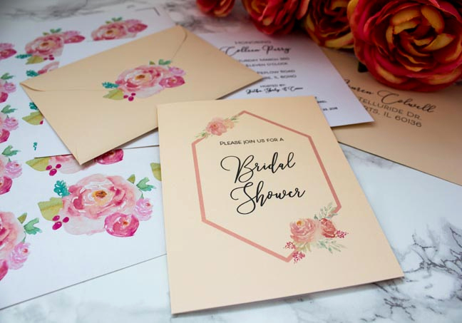 Bridal Shower Invitation Fonts Inspirational Design Your Own Bridal Shower Invitations